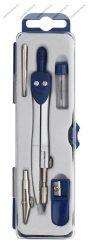 Fémkörző készlet, kék (5 db-os szett) - ICO