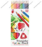 ICO Süni színesceruza, háromszögletű 12 db