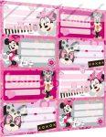 Minnie Mouse füzetcímke (8 db/lap)