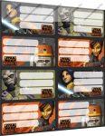 Star Wars füzetcímke (8 db/lap)