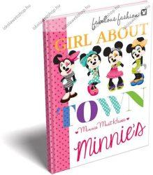 Keményfedeles notesz/Emlékkönyv, Minnie Mouse (A6)