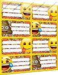 Emoji füzetcímke (8 db/lap)