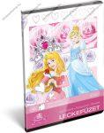 Lecke és Üzenőfüzet, A5, Hercegnős/Princess
