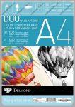 Rajzlaptömb A4, DUO, Félfamentes + Famentes rajzlap (20 +20 ív)