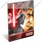 Star Wars Red A4 kockás füzet