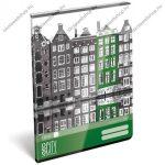 Geo City Amsterdam A4 kockás füzet