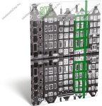 Cities - Amsterdam A/4 gumis dosszié