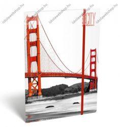 Cities - San Francisco A/4 gumis dosszié