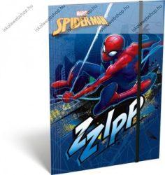Spiderman/Pókember Zzipp A/4 gumis dosszié