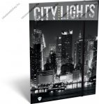 Citylights New York A/4 gumis dosszié