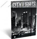 Citylights New York A/4 gumis dosszié