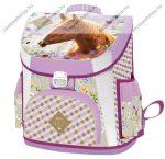Lizzy Card Wild Beauty Brown Prémium kompakt iskolatáska