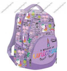 Lizzy Card Active+ hátizsák, Lollipop Uniqueorn/Lovas Pink