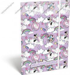 Minnie Mouse Unicorn/Unikornis/Lovas A/4 gumis dosszié