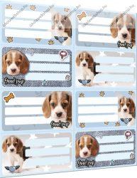 Pet Good Pup füzetcímke (8 db/lap)