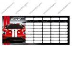 Ford GT/Autós órarend (18x8 cm)