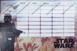 Star Wars Repülő kétoldalas órarend