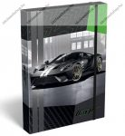 Lizzy Card Ford GT Green füzetbox, A/4