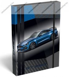 Lizzy Card Ford Mustang Blue füzetbox, A/4