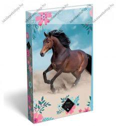 Lovas/Wild Beauty Blue füzetbox, A/4