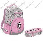 Lizzy Card Lollipop Hello Panda Active+ hátizsák + tolltartó szett