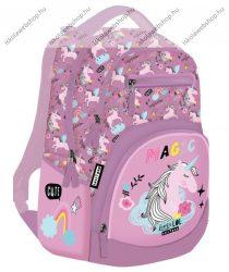 Lizzy Card Active+ hátizsák, Lollipop UNI-COOL Unikornis/Lovas