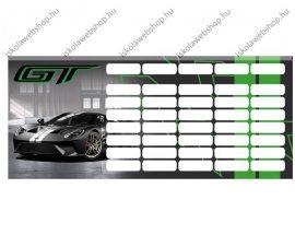 Ford GT Green/Autós mini órarend