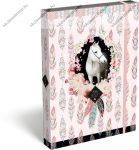 Lovas/Wild Beauty, Rose füzetbox, A/4