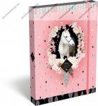 Lovas/Wild Beauty, Rose füzetbox, A/5