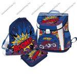 Lizzy Card Supercomics Bazinga prémium iskolatáska szett, 3 részes