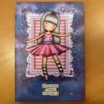 Gorjuss prémium keményfedeles emlékkönyv - A4, Pink - Ballerina