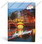 Mmoji A4 kockás füzet, Amsterdam (1 db)