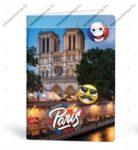 Mmoji A4 kockás füzet, Párizs (1 db)