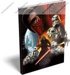 Star Wars emlékkönyv lakattal, A5, (kulcsos)