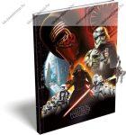 Keményfedeles emlékkönyv kulccsal és lakattal, Star Wars (A5)