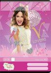 Violetta Pink vonalas füzet, A5
