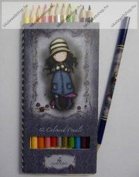 Santoro GORJUSS prémium színesceruza, 12 szín