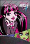 Monster High Pink Zip 1. osztályos vonalas füzet, A5/(14-32)