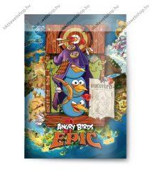 Angry Birds Kalóz 2. osztályos vonalas füzet, A/5 (16-32)