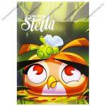 Angry Birds Stella 2. osztályos vonalas füzet, A/5 (16-32)