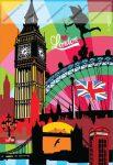 Cities/Metropolis - London vonalas füzet, 40 lap, A/5 - MAR MAR