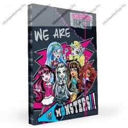 Monster High füzetbox, A/4