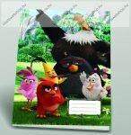 Angry Birds Sasmadár A4 vonalas 4 db-os füzetcsomag, A4/81-32