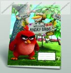Angry Birds Welcome A4 kockás füzet, A4/87-32