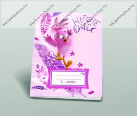 Angry Birds Girls 3. osztályos vonalas füzet, A5/12-32