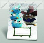 Angry Birds szótárfüzet, A5/31-32