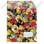A4 Sima spirál füzet, Angry Birds