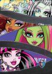 Monster High kockás füzet, A5