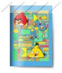 Angry Birds Blue A4 vonalas 4 db-os füzetcsomag, A4/81-32