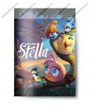 Angry Birds Girls Stella 1. osztályos vonalas 4 db-os füzetcsomag, A5/14-32